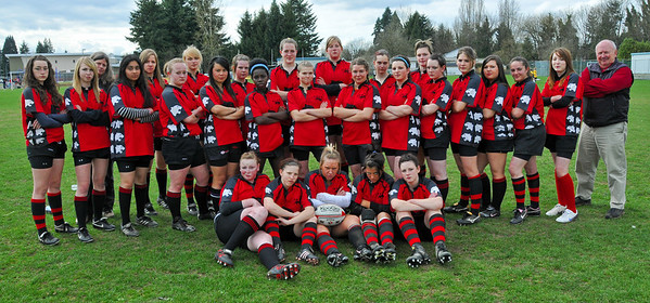 2009 - Girls Rugby