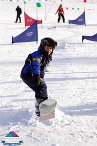 Cookie Race Snowboarders Jan 1,2009