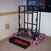 The Frame, Trap Doors, Bearing Blocks were assembled and installed on the robot.  The Control box is together! 2/9/09