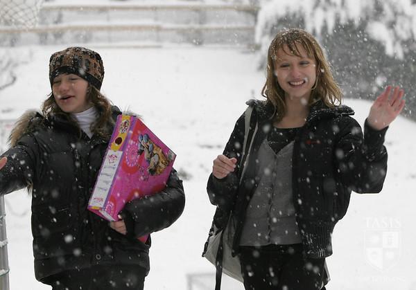 A Snowy Campus - December 2008
