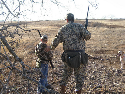 AIDAN'S FIRST DOVE 1-3-09