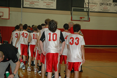 2008 - 8th Grade Boys Basketball  January 8
