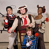 The cast of Ferdinand the Bull.<br /> Photo Credit: Heather Hill.