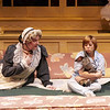Nana (D. Scott Withers) and the Boy (Jannese Davidson) in The Velveteen Rabbit.<br /> Photo Credit: Heather Hill