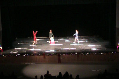 Winter Concert 2008 - Guard - Chipmunk Christmas Song