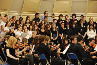 Spring Concert; Orchestra and Choral