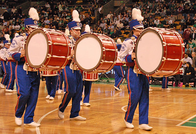 Drumline at Celtics 2009