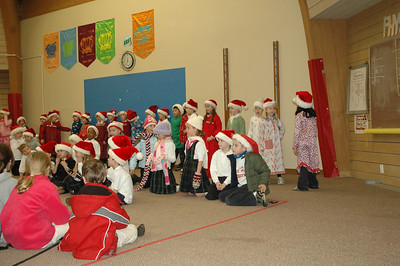 First Grade Holiday Performance