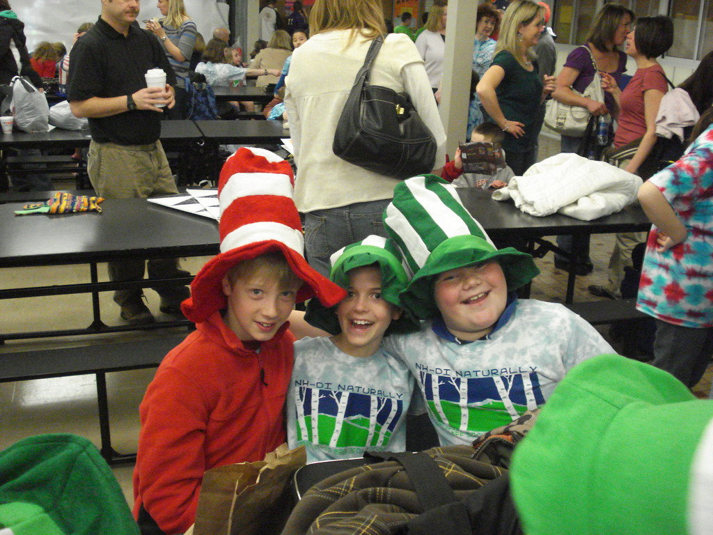 Chesterfield NH Kids in the Hat at the Swanzey Regional.