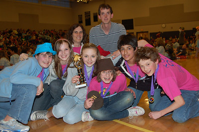 Hampstead Middle School, Private DI, Middle Level, 1st Place.