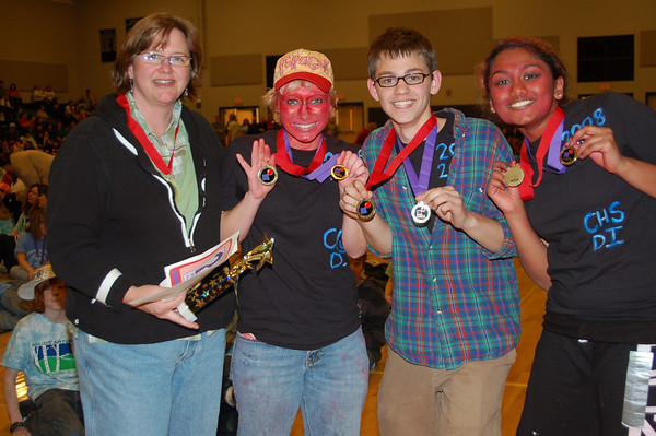 Concord High School, Instinct Messaging, Secondary Level, 2nd Place.