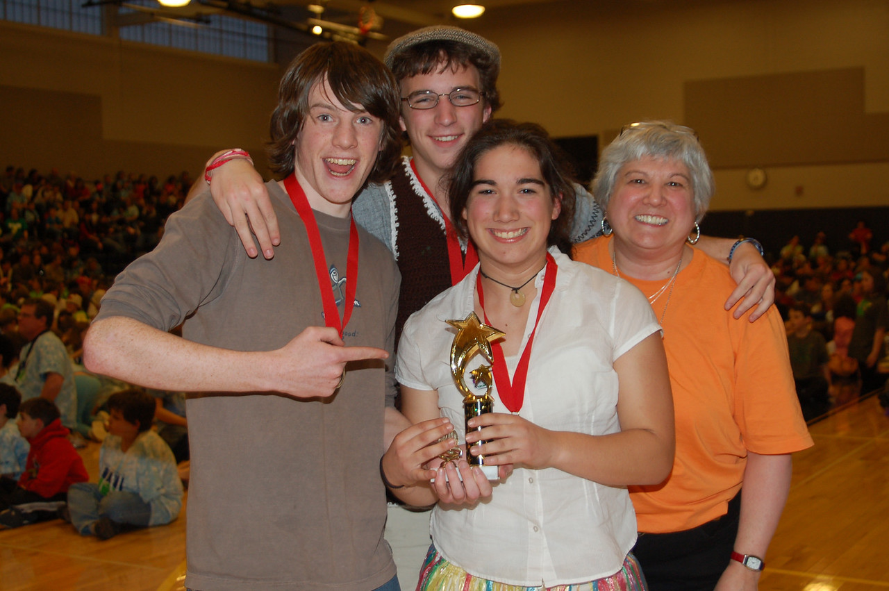Keene High School, A New Angle, Secondary Level, 2nd Place (tie).