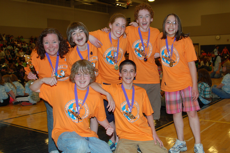 Londonderry Middle School, ViDIo Lit Hits, Middle Level, 1st Place.
