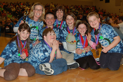 Pelham Elementary, Private DI, Elementary Level, 1st Place.