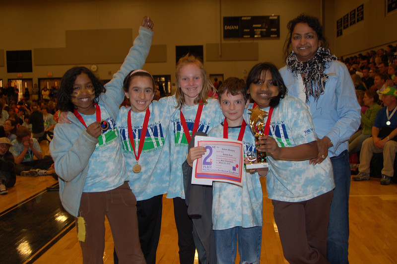 Kimball Team, Instinct Messaging, Elementary Level, 2nd Place.