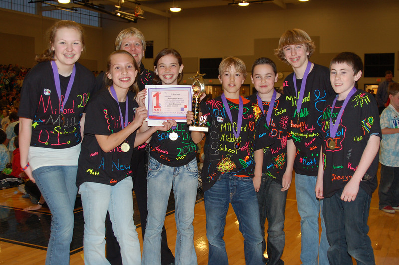 Milford Middle School, A New Angle, Middle Level, 1st Place