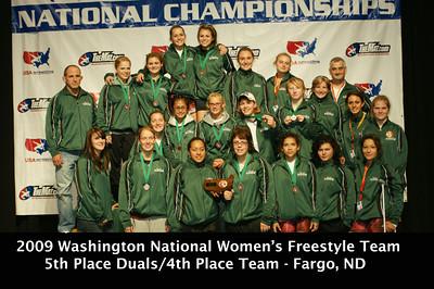 2009 Fargo Day 4 Women Duals and Junior Greco