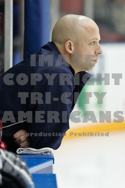 Americans Athletic Trainer Kevin Heise