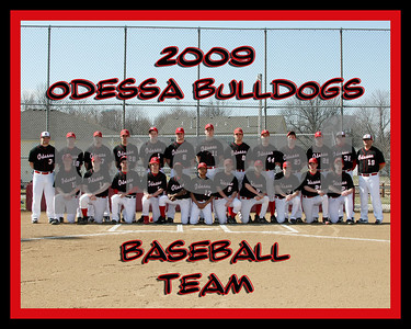 OHS 8x10 Baseball Team