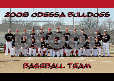 OHS 5x7 Baseball Team