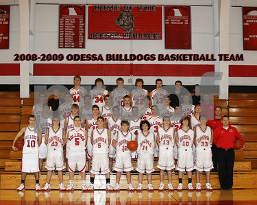 OHS Boys Basketball Team 8x10