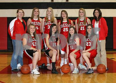 OHS Girls Basketball Freshmen Team 5x7