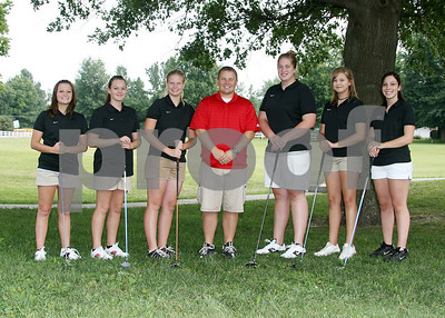 O Girls Golf Team 5x7