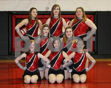 OHS Kickers Team 8x10