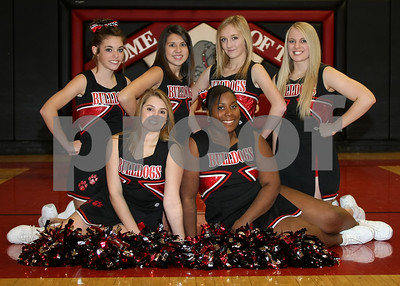 OHS Basketball Cheer Team 5x7