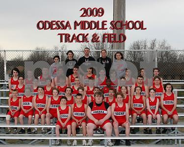 OMS 8x10 Boys Track Team