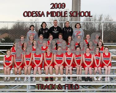 OMS 8x10 Girls Track Team