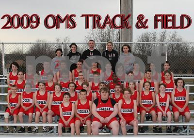 OMS 5x7 Boys Track Team