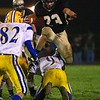 Thomas Tippett goes airborne.  Middletown vs Delone Catholic (Districts), 11/14/2008
