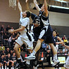 The Squires' Austin Brady scores. From 2009 02 27 Delone Catholic 59 Holy Name 54