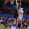 Littlestown Thunderbolt Matt Zuber scores. From Basketball 2009 12 30 Littlestown 58 New Oxford 48.