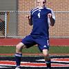 GOAL!  Justin Bausman adopts his celebratory pose. From Soccer 2009 09 19 Dallastown 5 York Suburban 0.