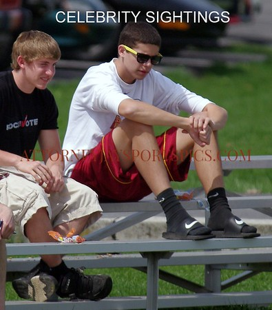 Hanover Nighthawk basketball standouts Brandon Wentz (L) and Zach Woodall (R)