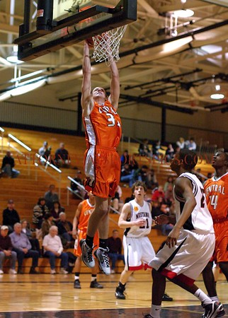 This and next two photos from 2010 02 02 Central York 66 South Western 37. #33 Spencer Ortmyer- Central York.