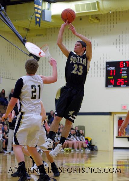 Mark Staub (23). From Basketball 2011 01 04.