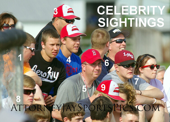 1. Bermudian Eagle Mike Thoman; Eagle Kevin McManama; Eagle Coach Kevin Dunlap? 4. Eagle Mike Moore; 5. Eagle baseball coach Bob Bonner; 6. Eagle Nolan Spahr; 7. Former Hanover Nighthawk Brandon Renoll; 8. Delone Catholic Squire Zach Noel.