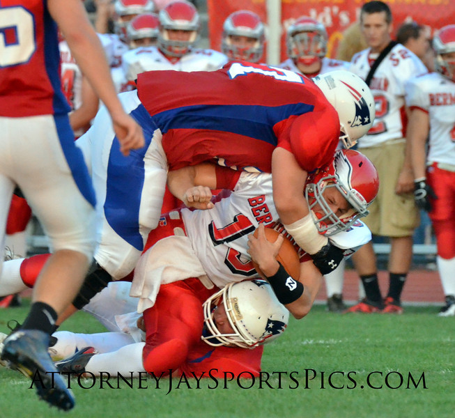 From Football 2012 08 31 Bermudian Springs 21 New Oxford 0 (QB Mikey Moore).