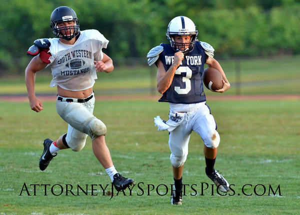 From Football 2013 08 22 West York vs South Western (scrimmage)