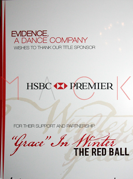 """Red Ball: Evidence's """"Grace in Winter"""" gala, New York, USA"""