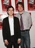 """NEW YORK - JULY 10:  Charles Socarides and Christopher Evan Welch attend the Off-Broadway opening night of """"The Marriage of Bette and Boo"""" at the Roundabout Theatre Company's Laura Pels Theatre on July 10, 2008 in New York City.  (Photo by Steve Mack/S.D. Mack Pictures) *** Local Caption *** Charles Socarides; Christopher Evan Welch"""