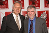 """NEW YORK - JULY 10:  Director Walter Bobbie and Writer Christopher Durang attend the Off-Broadway opening night of """"The Marriage of Bette and Boo"""" at the Roundabout Theatre Company's Laura Pels Theatre on July 10, 2008 in New York City.  (Photo by Steve Mack/S.D. Mack Pictures) *** Local Caption *** Walter Bobbie; Christopher Durang"""