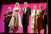"""NEW YORK - JULY 10:  The Cast during the curtain call at the Off-Broadway opening night of """"The Marriage of Bette and Boo"""" at the Roundabout Theatre Company's Laura Pels Theatre on July 10, 2008 in New York City.  (Photo by Steve Mack/S.D. Mack Pictures)"""