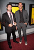 "NEW YORK - JULY 14:  Writer/director Wayne Price and actor Lucas Akoskin attend ""The Doorman"" premiere at the Village East Cinema on July 14, 2008 in New York City.  (Photo by Steve Mack/S.D. Mack Pictures) *** Local Caption *** Wayne Price; Lucas Akoskin"
