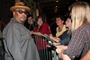 NEW YORK - JUNE 19: Passing Strange Cast Member Stew signs autographs after the show on June 19, 2008 at Belasco Theater in New York. (Photo by Steve Mack) *** Local Caption *** Stew