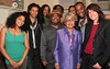 "NEW YORK - JUNE 19: Ruby Dee visits the cast of ""Passing Strange"" on June 19, 2008 at Belasco Theater in New York. (Photo by Steve Mack) *** Local Caption *** Ruby Dee"