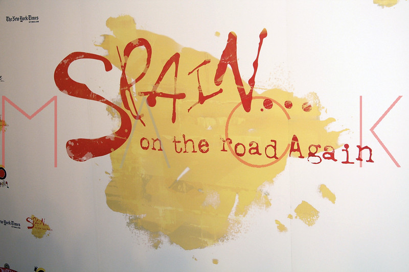 """""""Spain, On The Road Again"""" Television Series Launch, New York, USA"""